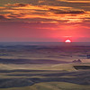 August 2012 Challenge: Sunrise/Sunset : WINNER: Chris Evans - Palouse Sunset
